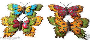 Deko Schmetterlinge Metall.Deko Schmetterling Metall Wandtattoo Wanddekoration
