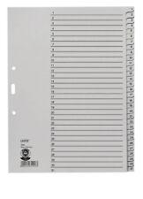 Leitz Register 1231,A4,1-31,Papier NEU OVP,Papierregister,einzeln oder 10 Stück