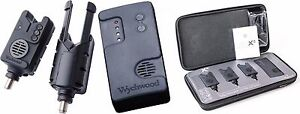 Wychwood-AVX-S-Fishing-Wireless-Bite-Alarm-Receiver-Presentation-Set-All-Colours