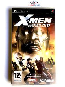 X-Men-Legends-II-PLAYSTATION-Psp-Neuf-Scelle-Retro-Scelle-Nouveau-Pal-Spa