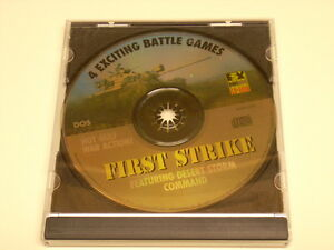 First-Strike-featuring-Desert-Storm-Command-Vintage-PC-Game