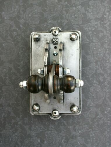Industrial Laboratory Light Switch Plate Single Toggle Frankenstein Steampunk
