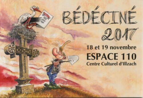 Carte postale  Carte publicitaire de Marc Hardy pour le Festival Bédéciné de Ill