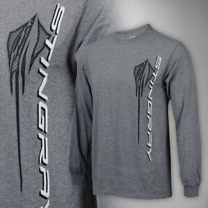 2020 C8 Corvette Men's Next Generation Stingray Long Sleeve T-Shirt 688204