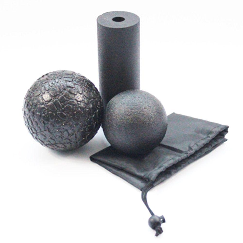 Yoga Roller Faszienrolle Massageroller Foam Schaumstoffroller Fitness U3I6 E6Y1