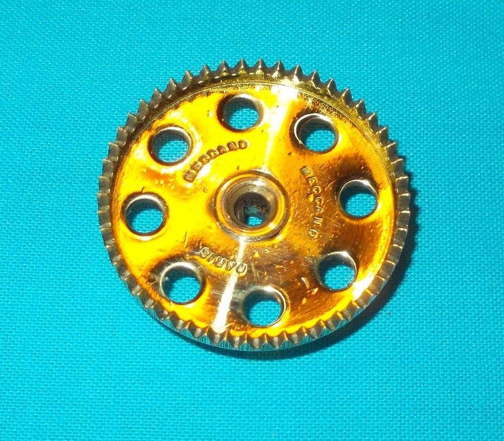 Meccano laiton laiton laiton roue de champ 50 dents, No28 2fa437
