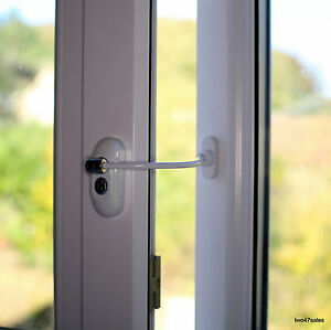 Lockable-Window-Security-Cable-Wire-Door-Restrictor-Child-Safety-upvc-Timber-Key