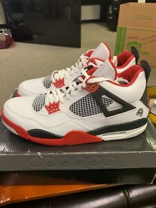 c3c9201cbde3 Air Jordan IV 4 Retro Size 11.5 Mars Blackmon White Varsity Red ...