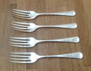 VINTAGE-CUTLERY-SET-OF-4-SMALL-FORKS-F-H-E-P-N-S-SILVER-PLATED-SIZE-5-5-034
