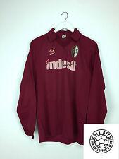 Retro TORINO 90/91 L/S Home Football Shirt (S) Soccer Jersey ABM