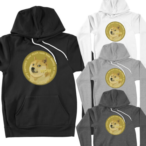 Dogecoin Doge Dog Inu Shiba Crypto Cryptocurrency To the Moon Pullover Hoodie