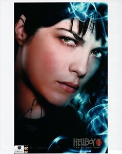 Selma-Blair-Signed-Autographed-8X10-Photo-Hellboy-2-Sexy-Poster-GV830022