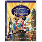Mickey Donald Goofy Three Musketeers 0786936838626 DVD Region 1
