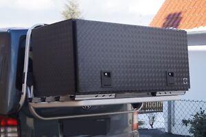alubox transportbox heckbox mit edlem design 1400x600x600. Black Bedroom Furniture Sets. Home Design Ideas