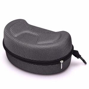Ski-Glasses-Case-Snow-Goggles-Holder-Box-with-Zipper-Protector-Black-Snowboard