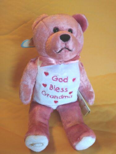 God Bless Grandma Teddy Bear
