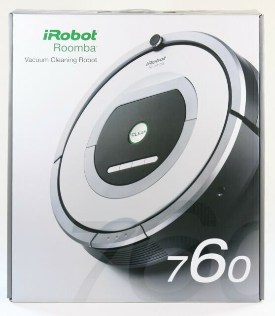 iRobot Roomba 760 Robotic Vacuum Cleaner  Free Ship USA 76002 - SHIPS WORLDWIDE!