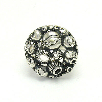 STERLING SILVER RING SOLID 925  NEW ADJUSTABLE SIZE R001401 EMPRESS