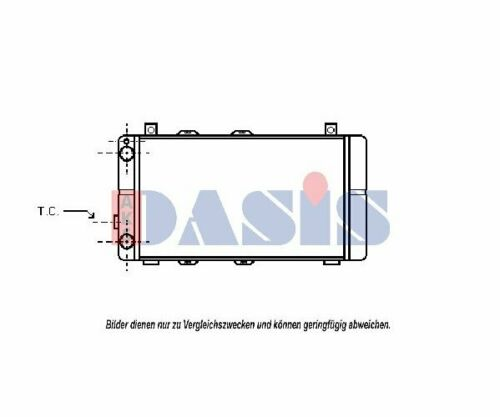 Motorkühlung  AKS DASIS Kühler