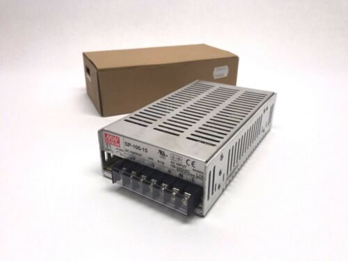 100-240VAC New MW Mean Well SP-100-15 Power Supply Module 15V 6.7A