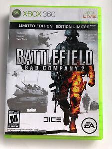 Battlefield: Bad Company 2 Limited Edition FREE SHIPPING (Microsoft Xbox 360)