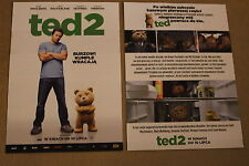 Ted 2 (2015) Mark Wahlberg, Amanda Seyfried - Polish promo FLYER