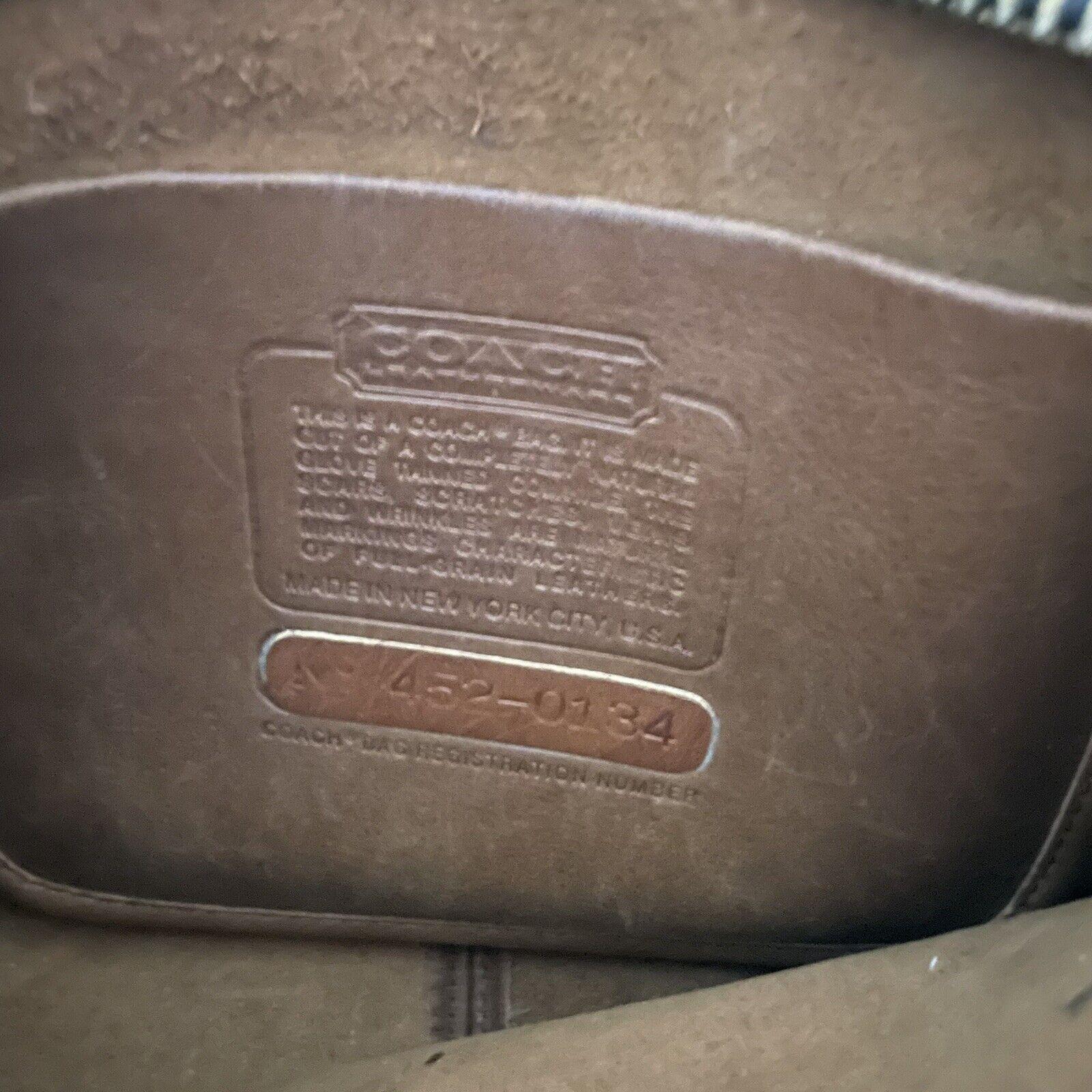 COACH Vintage Bonnie Cashin Brown Leather Shoulde… - image 8