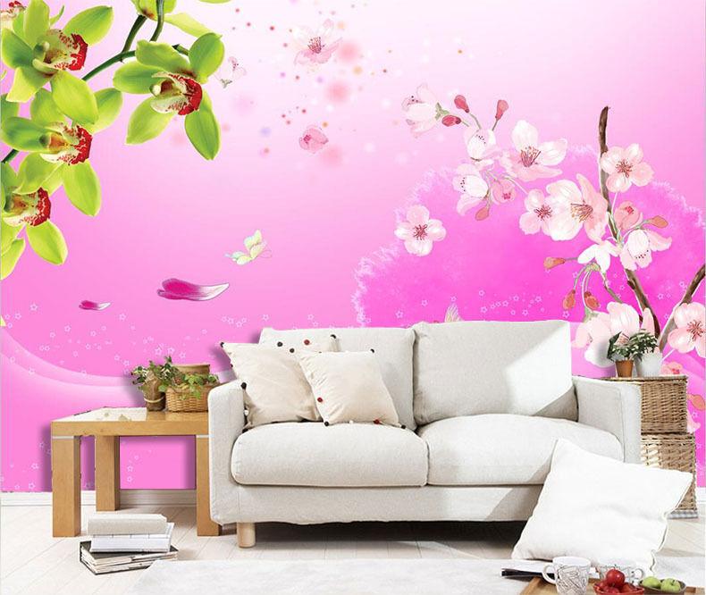 3D Baum Knospen, Blüten 354 Fototapeten Wandbild Fototapete BildTapete Familie
