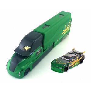 Cars-3-Next-Gen-82-Conrad-Camber-Mack-Hauler-Truck-amp-Racer-Diecast-Toy-Car-New