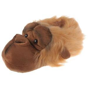 Hausschuhe Damenschuhe Erfinderisch Orang Utan Affe Tier Hausschuhe Pantoffel Schlappen Plüsch Schuhe Orange 36-48 Gute Begleiter FüR Kinder Sowie Erwachsene