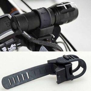 Universal-360-Taschenlampe-Halter-Lampe-Halterung-fuer-Fahrrad-Lenkerhalterung