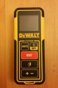 éNergique Dewalt Dw099e Laser Distance Mesure Area Volume-afficher Le Titre D'origine