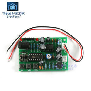 Details about (Need Weld) ISD1820P recording module DIY kit with audio  amplifier circuit