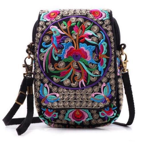 Embroidery Bag Women Handbags Summer Vintage Travel Beach Ladies Totes Shoulder