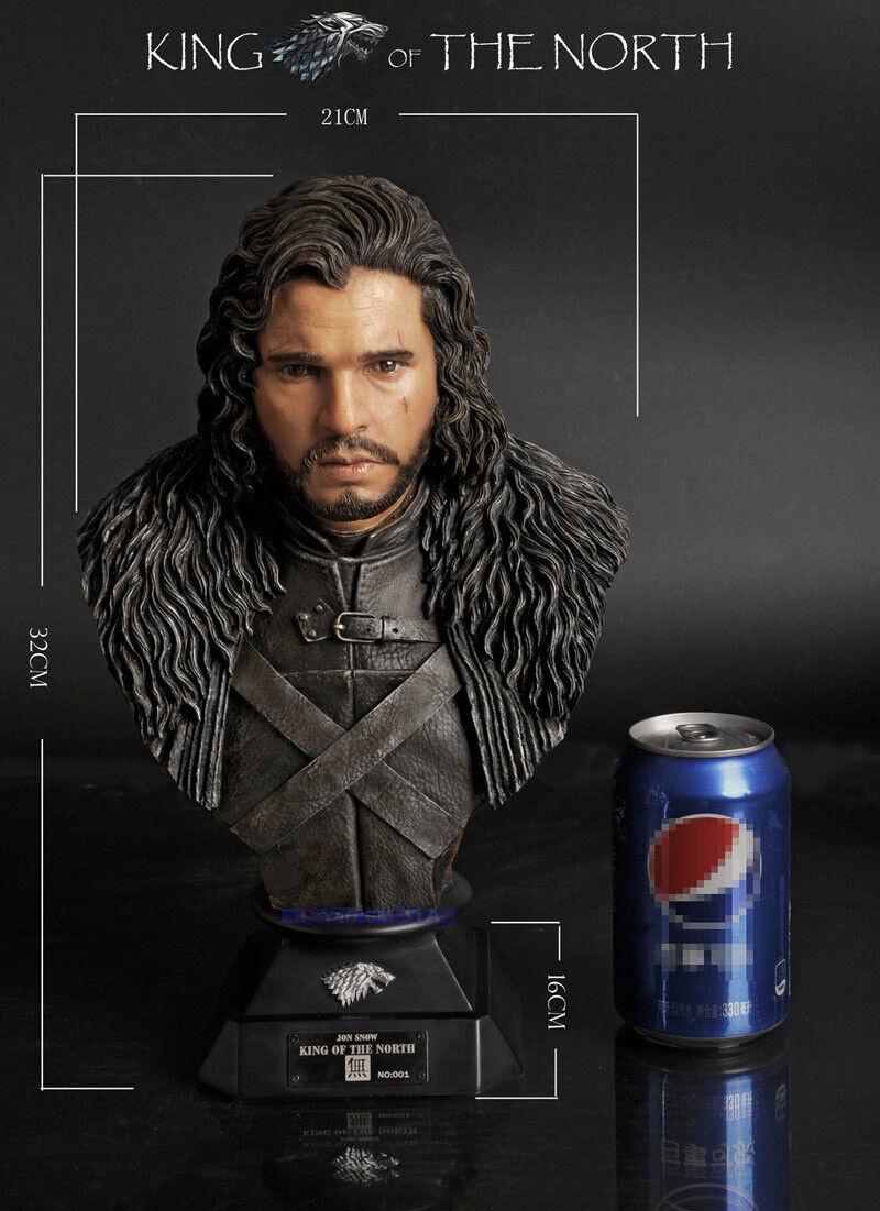 Juego del trono 1   2 Escala de Jon Snow 13 - media - Color Image Co.