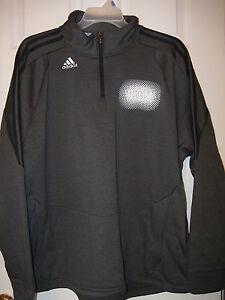 dda13796cd ADIDAS Texas Christian TCU Climawarm Charcoal Jacket Mens Size 2XL XXL NWT