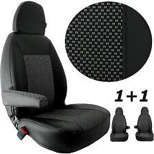 Auto Sitzbezüge Maß Kunstleder Stoff 2 Mercedes Vito W 639 Bezüge 1+1