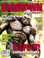 Unknown Magazine Issue #5 - Bigfoot Issue - Real stories of the Paranormal 2000
