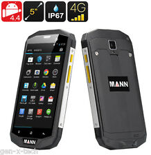 MANN ZUG 5S 3G 4G Rugged IP67 Waterproof Android 4.4 Mobile: 5 Inch HD 1280x720