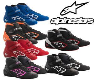 Chaussures Alpinestars Tech-1 K 18 Noir//Blanc 38