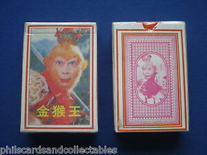1970/'s Monkey TV Show Journey to the West Playing Cards    SEALED