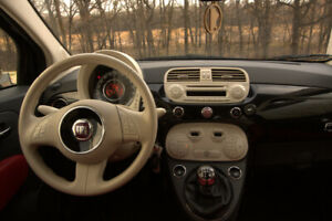 Black Beauty: 2012 Fiat 500L Lounge Coupe (2 door)