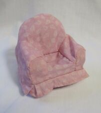 FISHER PRICE Loving Family Dollhouse OVERSTUFFED LIVING ROOM CHAIR Cloth Cover