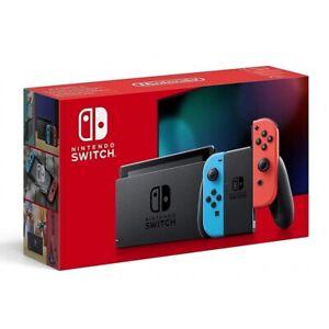 Nintendo Switch Konsole neon rot/neon blau Spielkonsole Gaming Konsole 32 GB