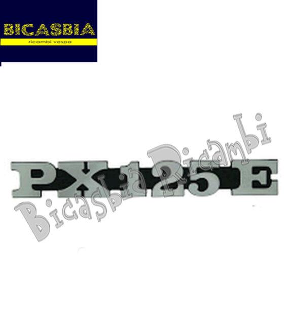 3382 - TARGHETTA COFANO LATERALE PX125E PER VESPA PX 125 E VNX
