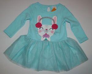 New-Gymboree-Girl-Glitter-Bunny-Rabbit-Tutu-Dress-NWT-12-18M-3T-4T-5T-Ice-Dancer