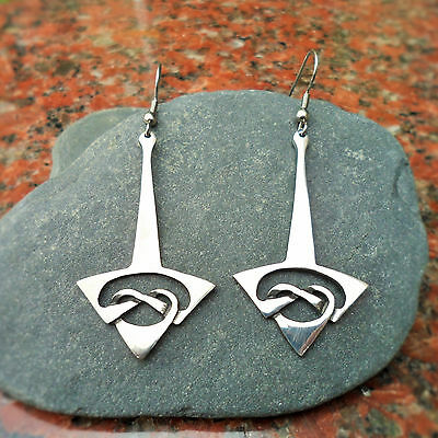 Pewter Celtic Earrings CC40E. 92% Tin; An ideal 10th Wedding Anniversary Gift?)