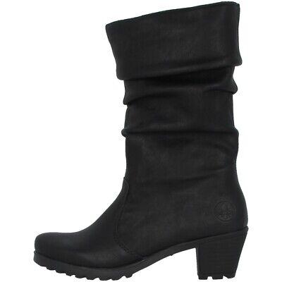 Rieker Kuwait Stiefel Antistress Damen Schuhe Winterstiefel FtZND