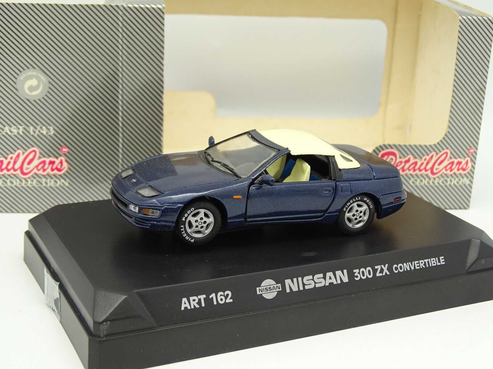 Detail Cars 1 43 - Nissan 300 ZX Congreenible blue