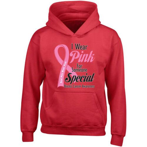 dragen Echte Ondersteuning sweatshirt borstkankerkap roze met capuchon mannen rrZwxOpq5